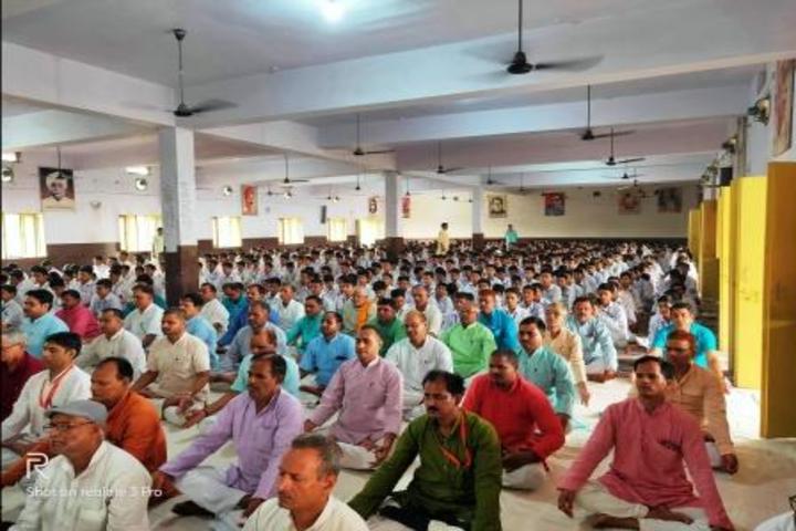Naggaji Saraswati Vidya Mandir-Yoga Activity