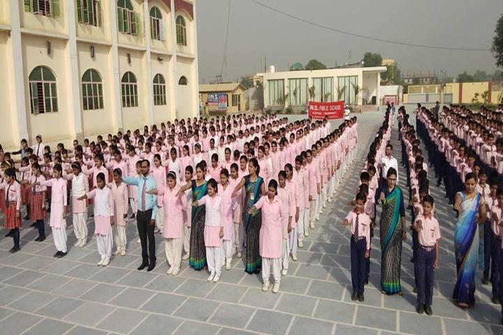 Narayan Savitri Public School-Assembly