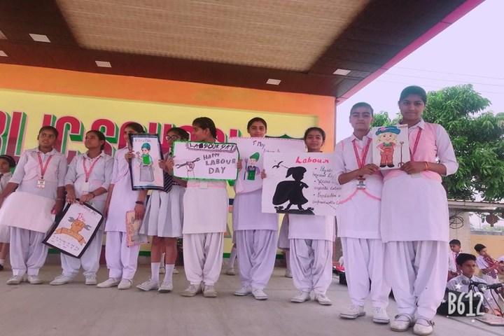 Narayan Savitri Public School-Labour Day