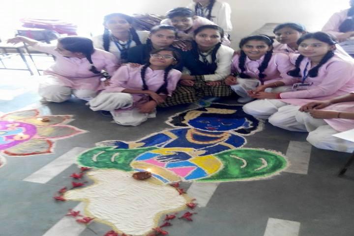 Narayan Savitri Public School-Rangoli Event