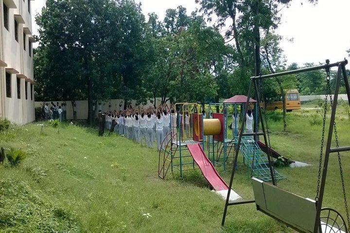 Trident Public School-Kids Playground