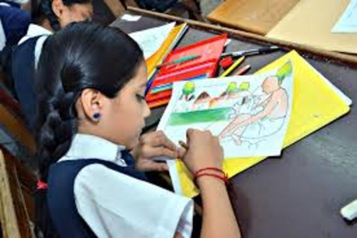 Narayani Challenger Convent School-Drawing Activity