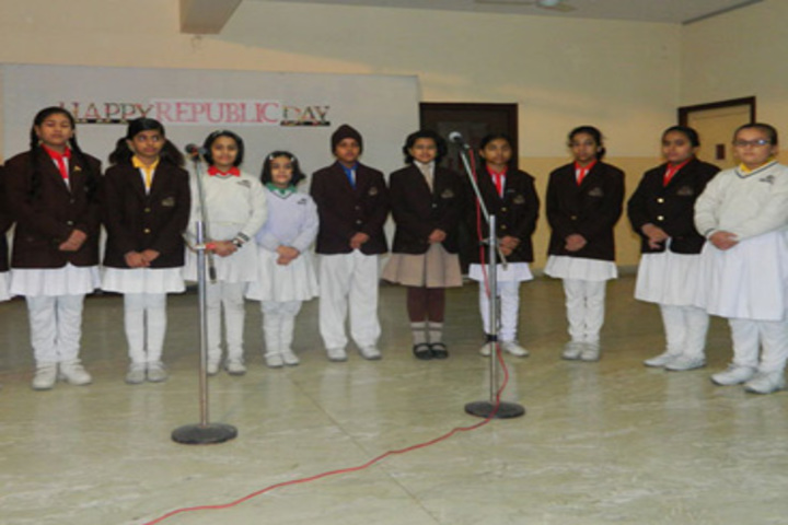Narayani Challenger Convent School-Singing Activity