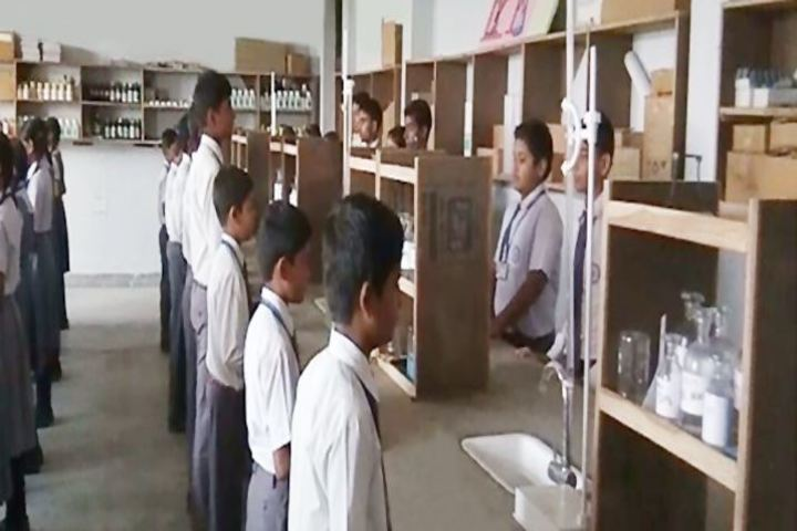 Nav Jeevan Mission School - Chemistry lab