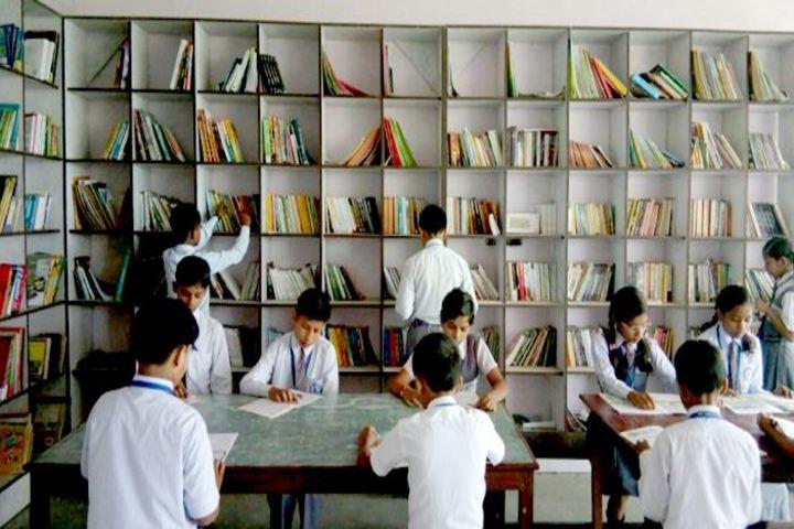Nav Jeevan Mission School - Library