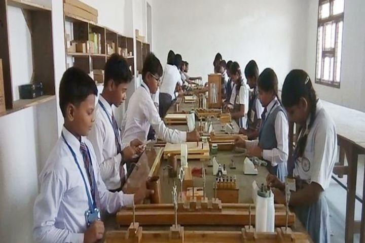 Nav Jeevan Mission School - Physics lab