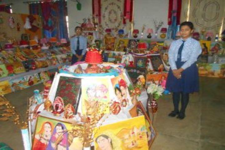 Navayuga Radiance School-Art and Craft Exhibition