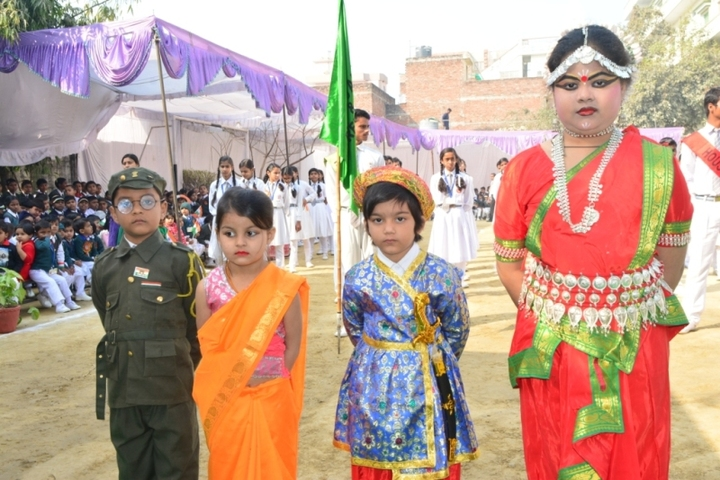 Navneeta Kunwar Public School-Fancy Dress Celebration