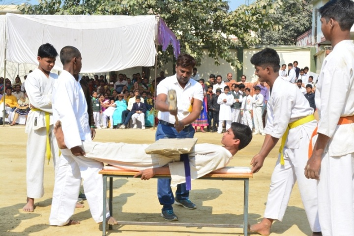 Navneeta Kunwar Public School-Karate Activity