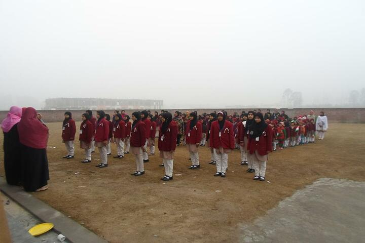 Nawaz Girls Public School - Assembly