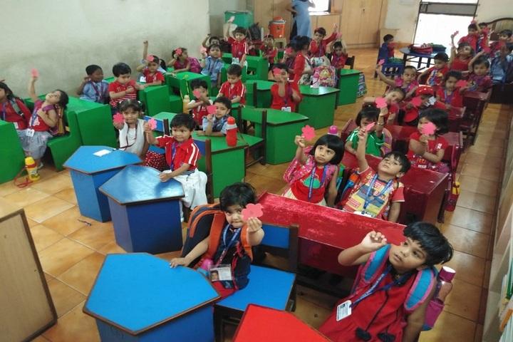 Nehru International Public School-KG Classrooms