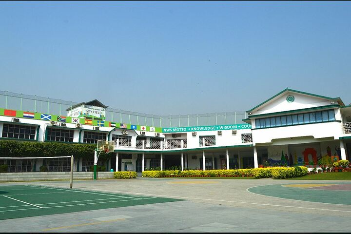 Nehru World School-Assembly Ground