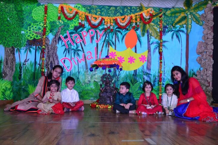 Nehru World School-Diwali Celebrations