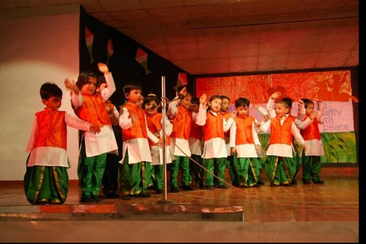 Nehru World School-Independence Day