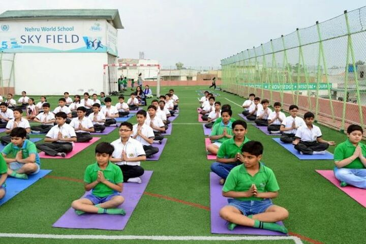 Nehru World School-Yoga