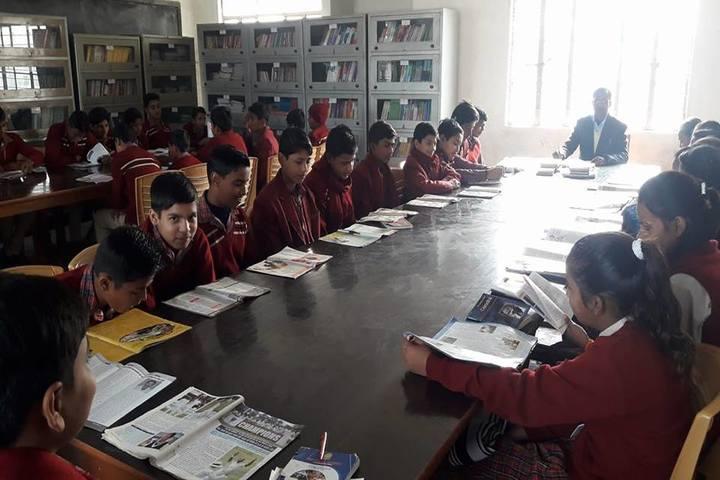 Uma Shankar Champa Devi Dav Public School-Library