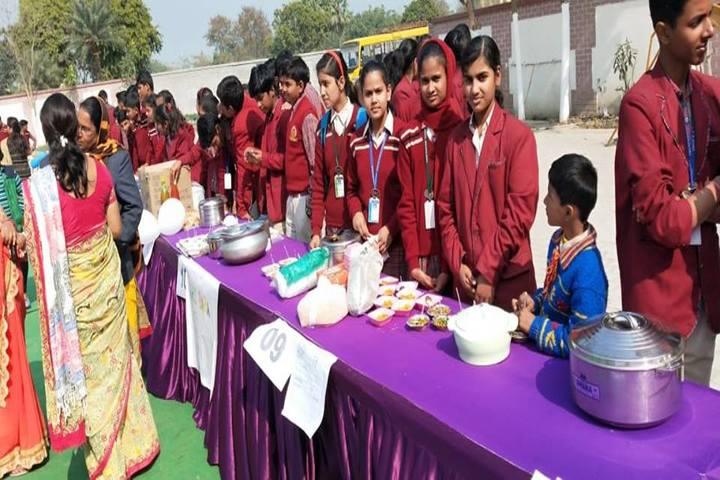 Uma Shankar Champa Devi Dav Public School-School Food Fest
