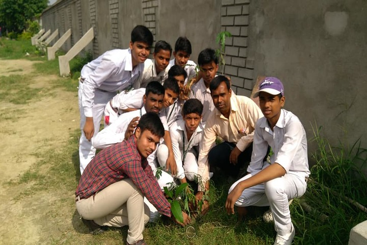 Uma Shankar Champa Devi Dav Public School-Tree Plantation