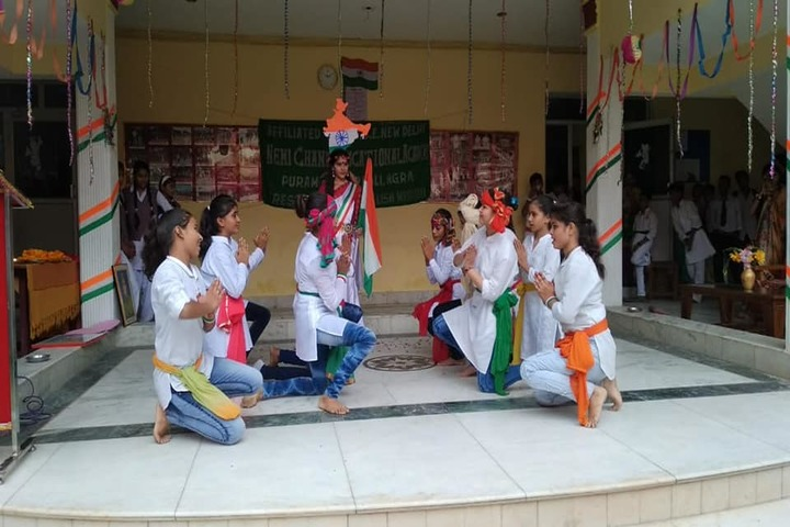Nemi Chand Educational Acdemy-Independence Day Celebrations