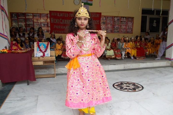 Nemi Chand Educational Acdemy-Krishnastami Celebrations