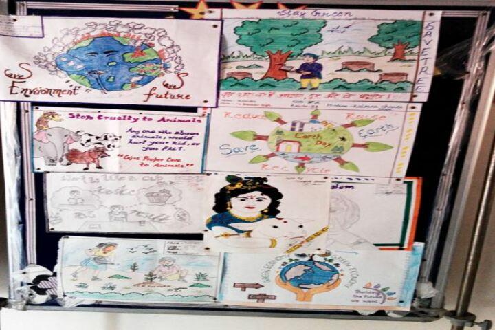 New Adarsh Public School-Art