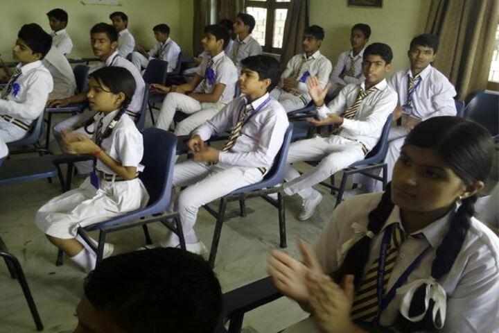 New Adarsh Public School-Classroom