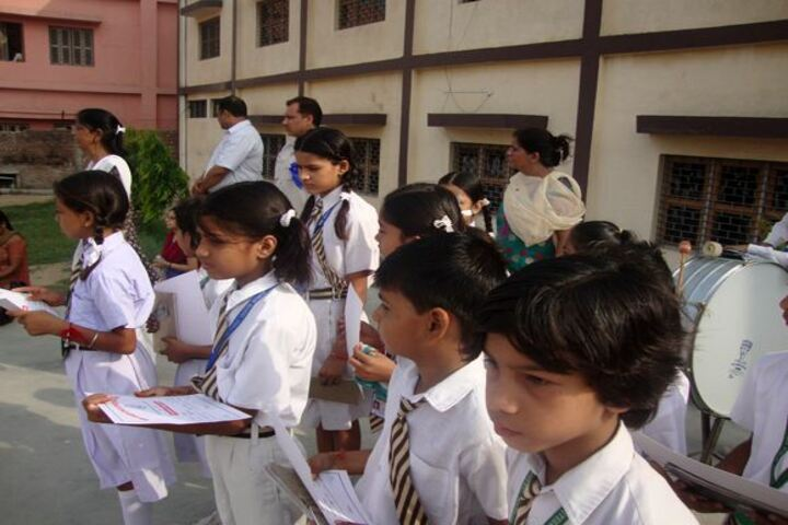 New Adarsh Public School-Morning Assembly
