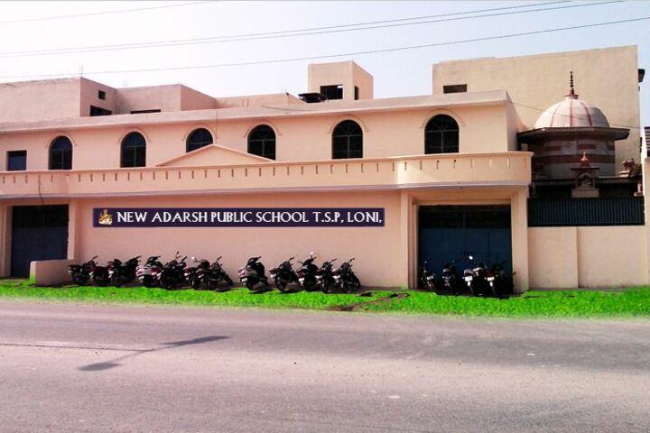 New Adarsh Public School-School Building