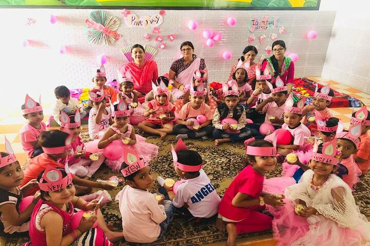 New Angels Senior Secondary School-Pink Day