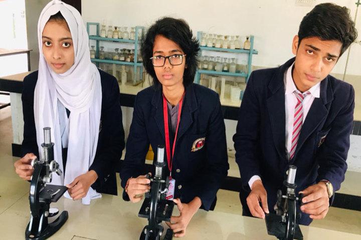 New Cambridge Senior Secondary School-Chemistry Lab