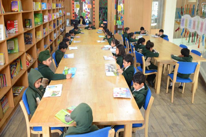 New Cambridge Senior Secondary School-Library