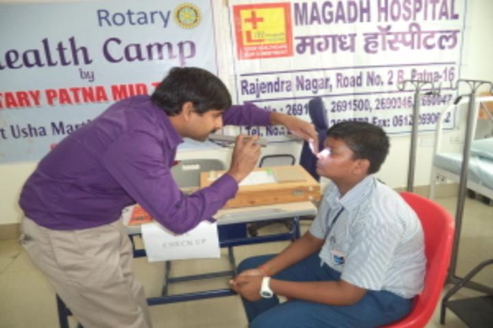 Usha Martin Wld School-Health And Medical Checkup