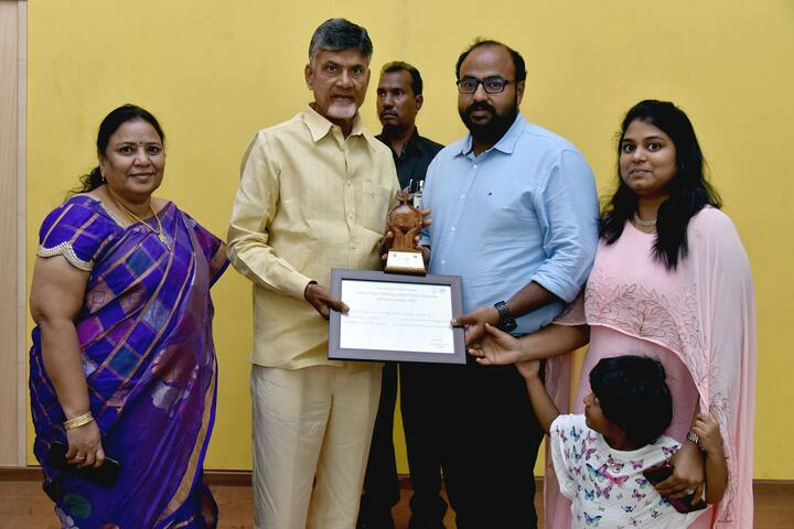 Edify School-Award Receiving