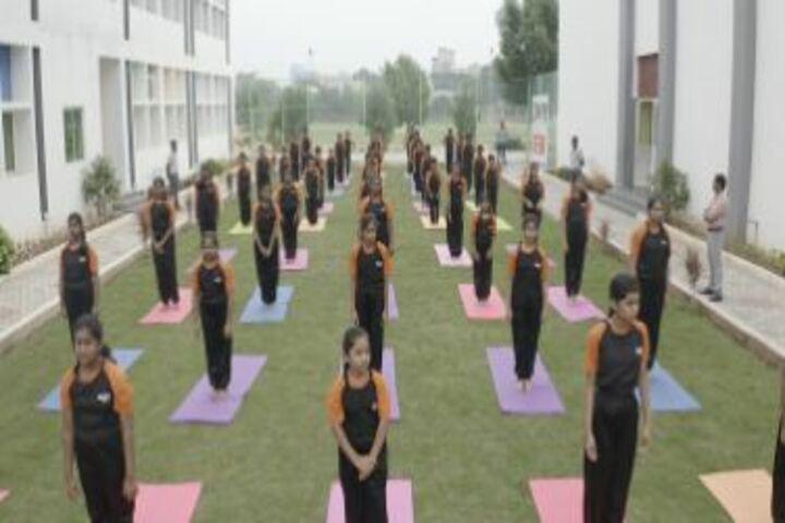 Edify School-Yoga Activity