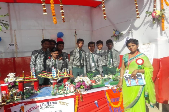Vaishali Central Public School-School Exhibition