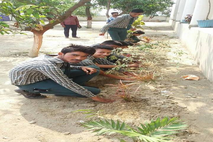 Vaishali Central Public School-Tree Plantation