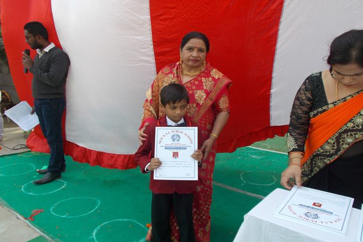 R S J  Public School-Certificate Distribution