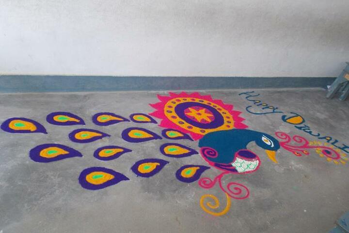 R S J  Public School-Deepawali Celebrations