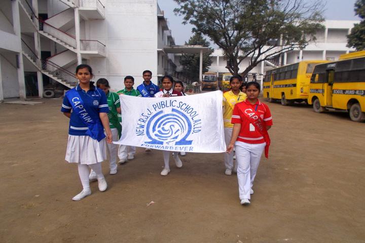 R S J  Public School-Sport Day