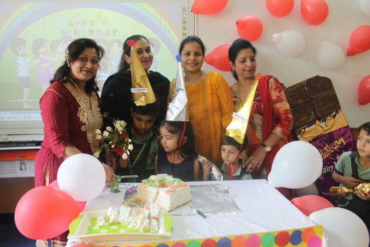 New Rainbow Public School-Birthday celebrations