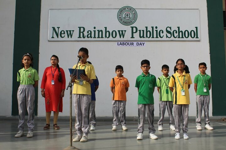 New Rainbow Public School-Labour day