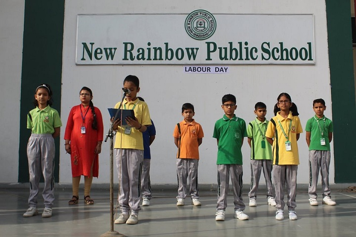 New Rainbow Public School-Activity