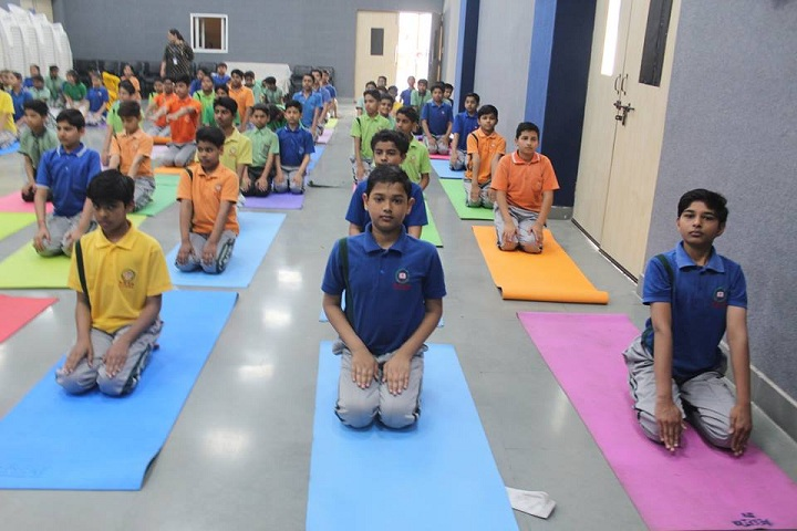 New Rainbow Public School-Yoga