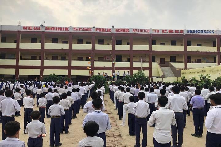 New Sainik Public School-Assembly