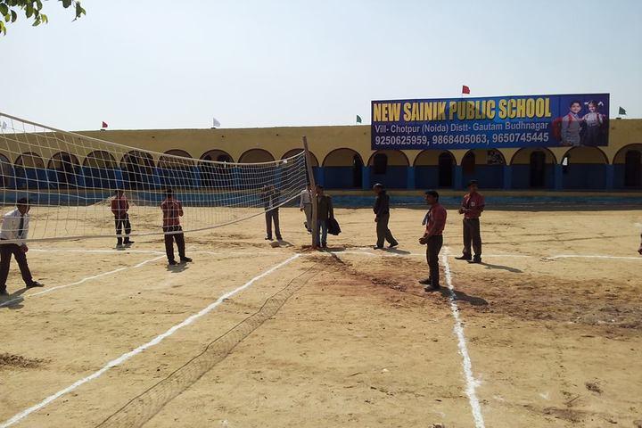 New Sainik Public School-Play Ground