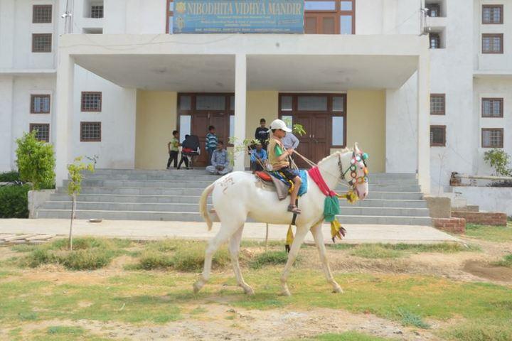 Nibodhita Vidhya Mandir-Horse Riding