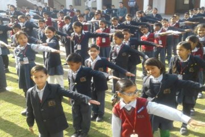 Nibodhita Vidhya Mandir-Morning Assembly