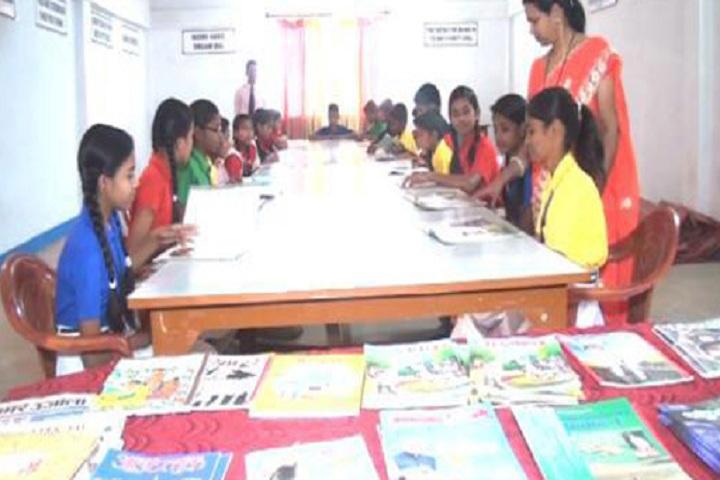 Nidhi Ideal School-Library