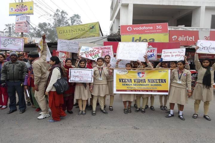 Veen Vidya Niketan-Awareness Programme On No Smoking