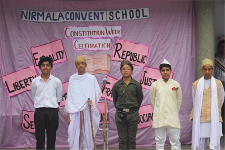 Nirmala Convent School- Constitution Week Celebration